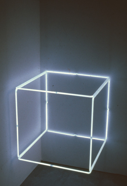 , '2' Blue Neon,' 1971, Konrad Fischer Galerie