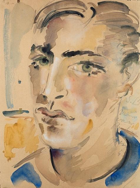 Filippo De Pisis, 'Ritratto di giovane', 1943, Finarte