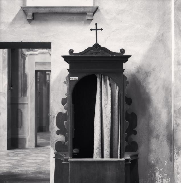 Michael Kenna, 'Confessional, Study 1, Chiesa dei San Pietro Apostolo e Prospero Vescovo, Reggio Emilia, Italy', 2007, Huxley-Parlour