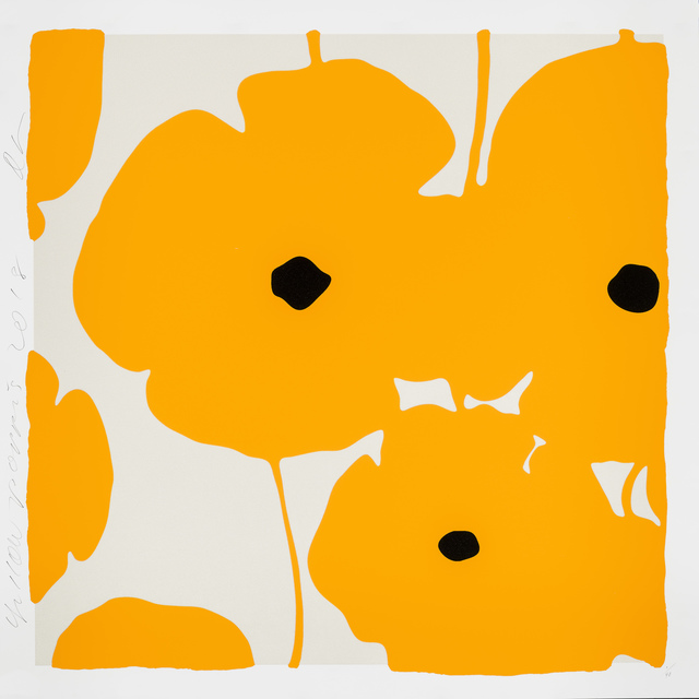 Donald Sultan, 'Yellow Poppies', 2018, Meyerovich Gallery