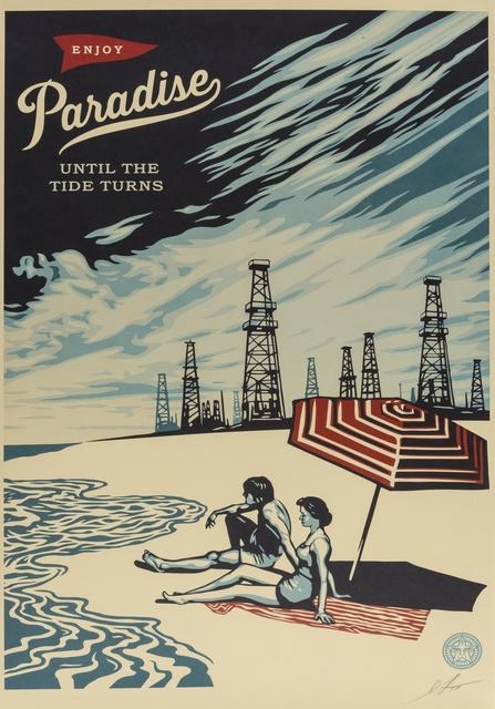 Shepard Fairey (OBEY), 'Paradise', Forum Auctions