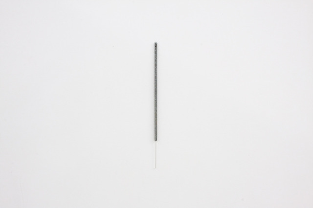 , 'Vertical Metal Bracket and Plastic Rod,' 2014, Alejandra von Hartz Gallery