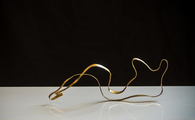 ", 'Sculpture in Brass by Jacques Jarrige ""Angel#8"",' 2017, Valerie Goodman Gallery"