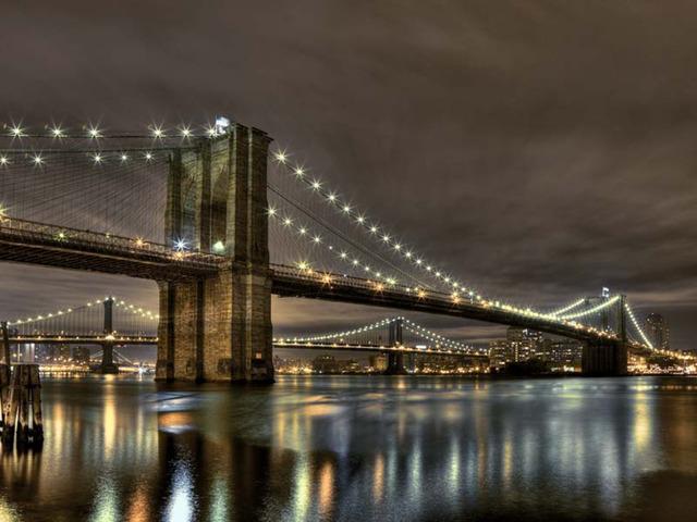 , 'Brooklyn Bridge,' 2016, UNIX Gallery