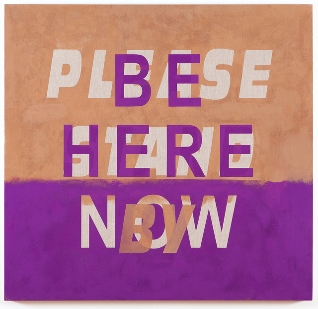 , 'Be Here Now/Please Stand By,' 2013, Resource Art