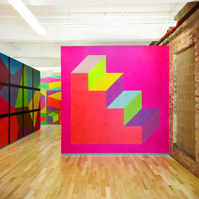 , 'Wall Drawing #610,' 1989, MASS MoCA