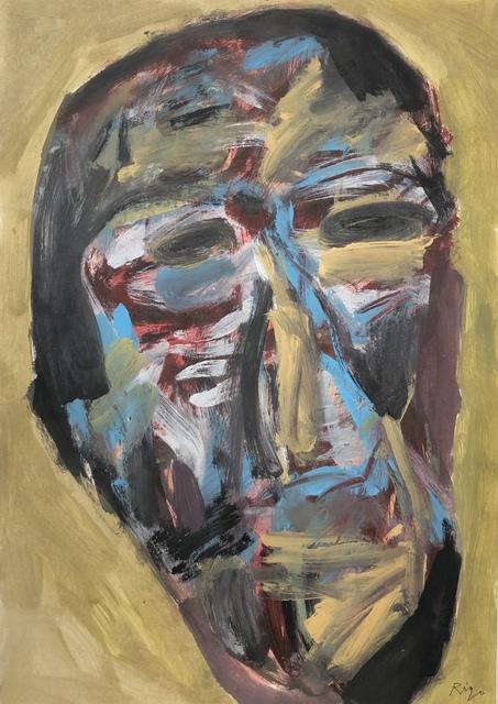 Rigo (José Rigoberto Rodriguez Camacho), 'Head No. 1', 2017, Thomas Nickles Project