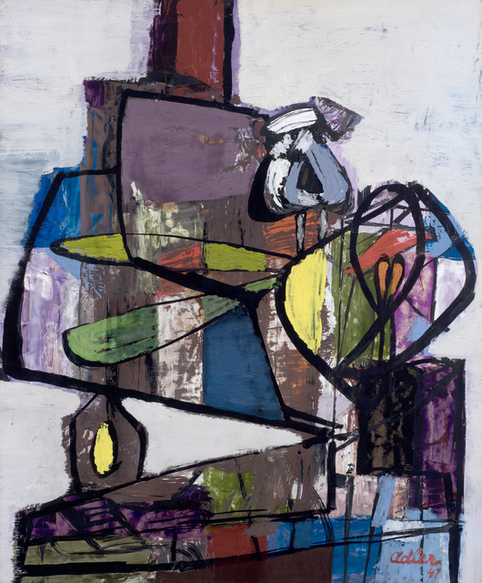 , 'Composition (Still Life on a Table),' 1947, Ben Uri Gallery and Museum