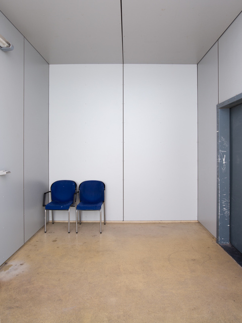 , 'Voor vrij Nederland (immigration detention, location Scheveningen) right image,' 2015, Van Kranendonk