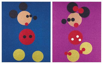Mickey & Minnie (2 Works)