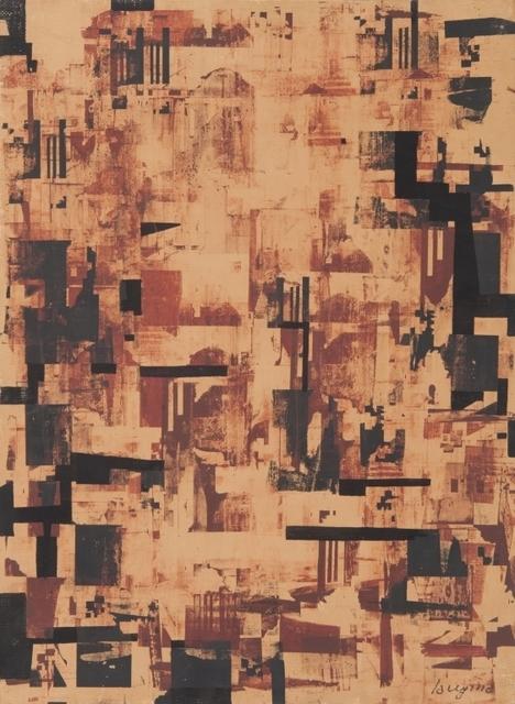 Guido La Regina, 'Composizione', probably 1955, Aste Boetto
