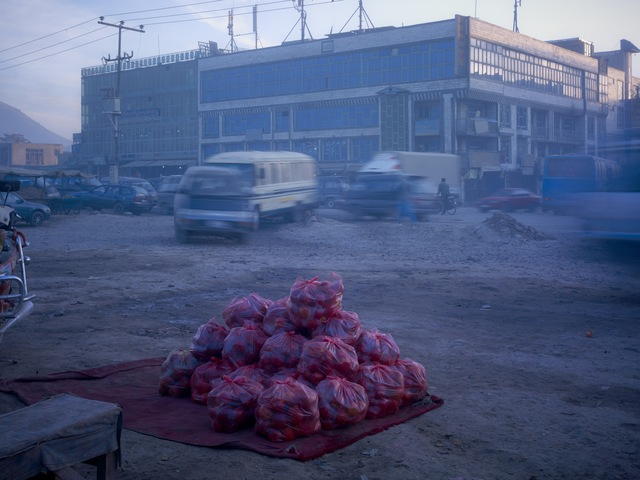 , 'Pakistani Apples For Sale At A Roadside Market,' 2010, Benrubi Gallery