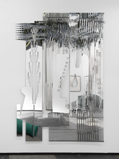 Tarik Kiswanson, '...of ..., at... h, at..., in..., warflowers (the weavers' machines)', 2017, carlier | gebauer
