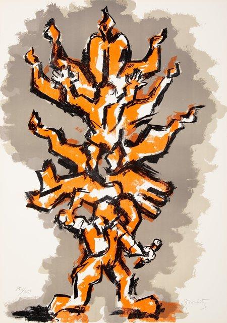 Jacques Lipchitz, 'Tree of Life Portfolio (three works)', 1972, Heritage Auctions