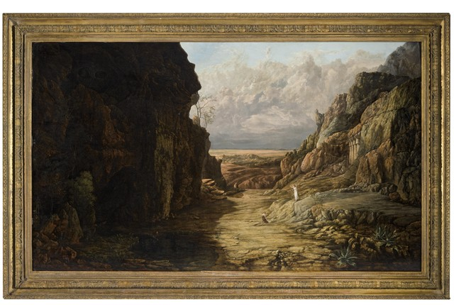Francis Gold, 'Hagar and Ishmael', 1819-20, Painting, Oil on panel, Day & Faber