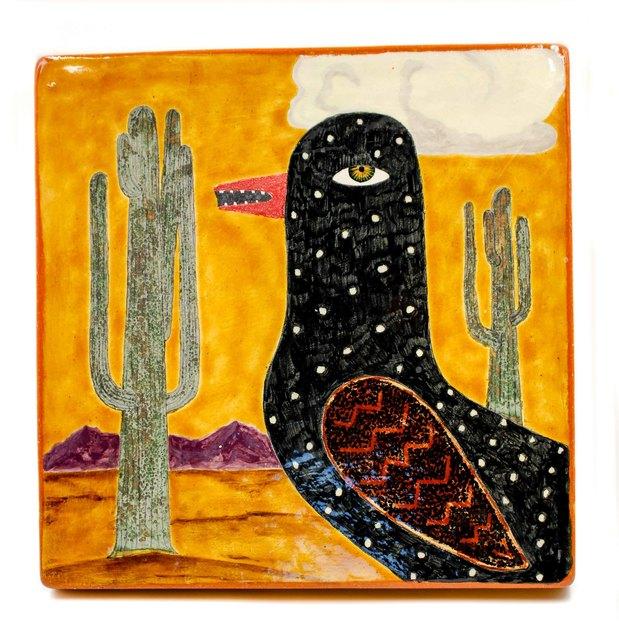 , 'Arizona Day Bird,' 2017, form & concept
