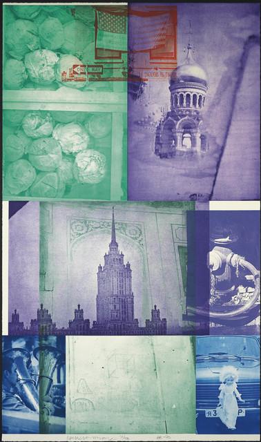 Robert Rauschenberg, 'Soviet American Array IV', 1990, Evelyn Aimis Fine Art