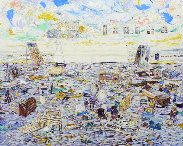 , 'Edvard Munch's Studio,' 2015, NUNU FINE ART