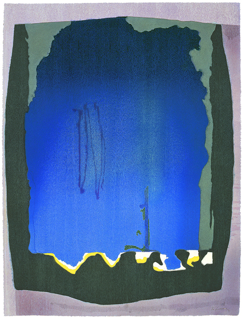 , 'Freefall,' 1993, Helen Frankenthaler Foundation
