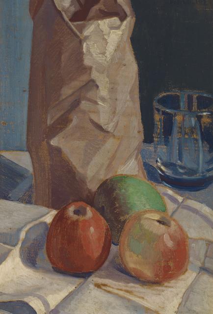 Emilio Pettoruti, 'Studio in una seduta (also known as Tres manzanas)', 1917, Christie's