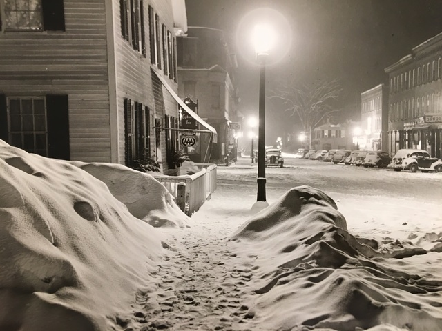 , 'Center of Town After Blizzard, Woodstock, VT,' 1940-printed 1977, Scott Nichols Gallery