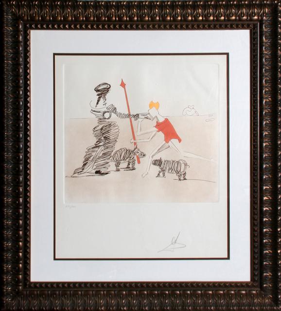 Salvador Dalí, 'Pastorale from Historia de Don Quichotte de la Mancha', 1981, RoGallery