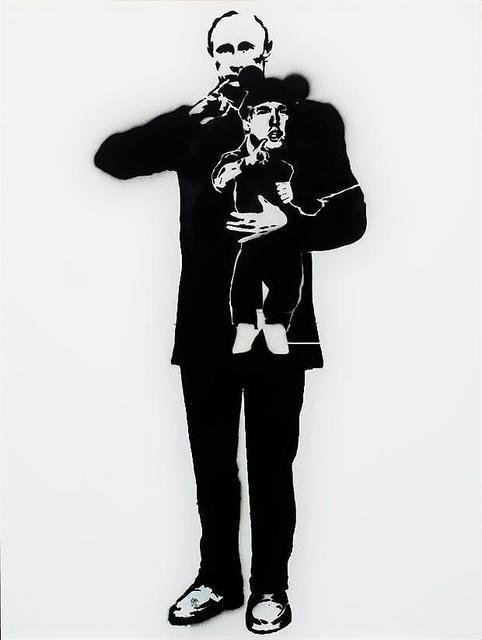 , 'Dr. Evil & Mini-me,' 2018, Bruce Lurie Gallery