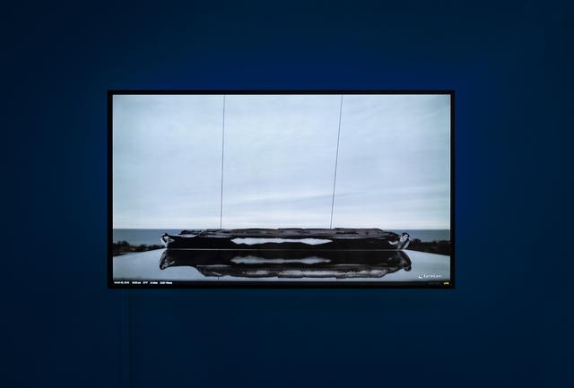 , 'Webcam of Trough 3,' 2018, bitforms gallery