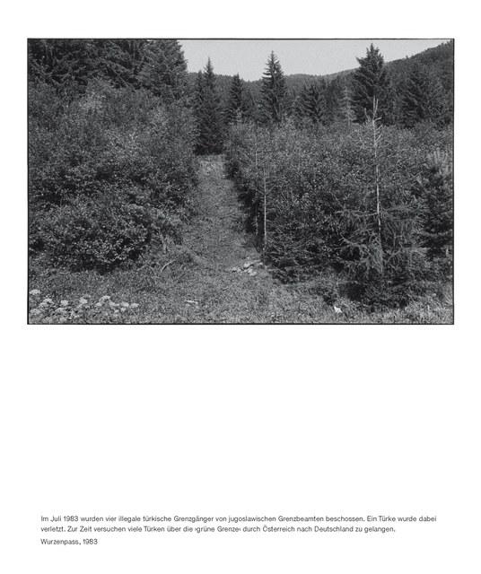 , 'Staatsgrenze 1981-1983 (Wurzenpass),' 2016, Thomas Fischer