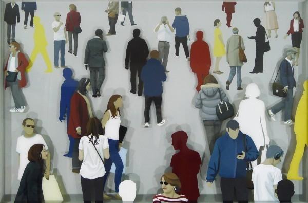 , 'Glasswork (New Pedestrian Rd.),' 2018, TAG Fine Arts