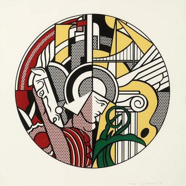 Roy Lichtenstein, 'Modern Argonaut with Horse (Guggenheim)', 1969, Print, Serigraph, Pen Project