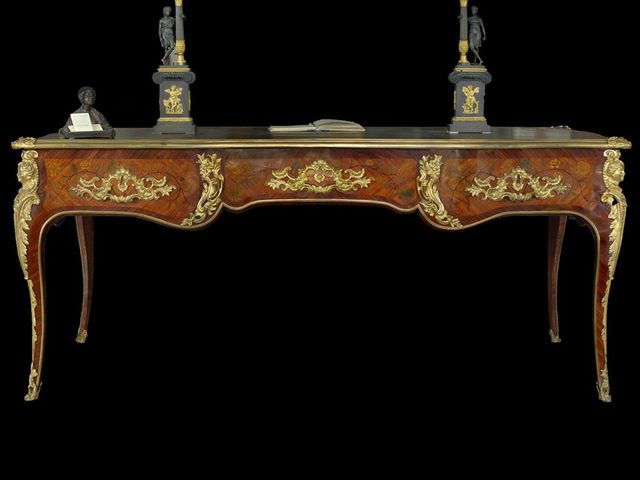 Unknown Artist, 'French centre desk, in excellent state of preservation, Louis XV period (1745).', ca. 1745, LTWID by Vintage Domus