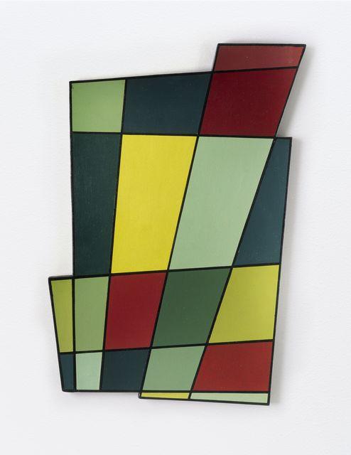 , 'Marco recortado N° 2 (Irregular Frame N° 2),' 1946, Moderna Museet