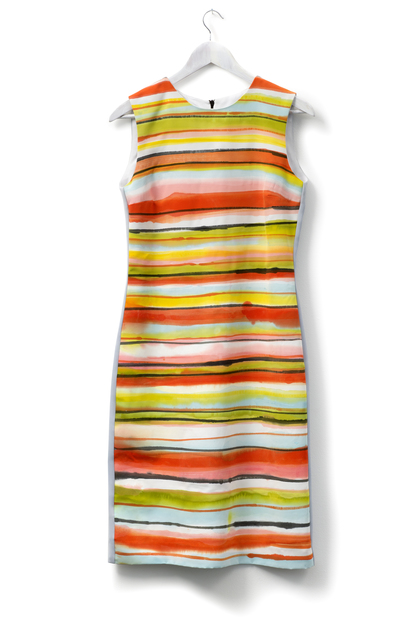 , 'Hand-painted Dress (Stripes),' 2016, Laure Genillard