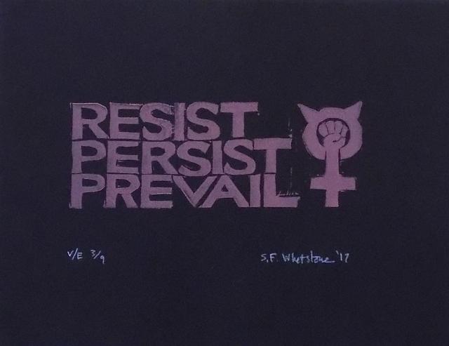 , 'Resist, Persist, Prevail,' , Sparrow Gallery