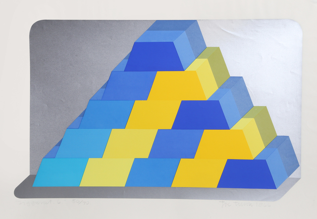 Joe Tilson, 'Ziggurat 6', 1966, RoGallery