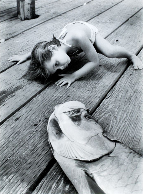 Alfred Eisenstaedt, 'What a Big Fish, Sarasota, Fla.', 1959, Robert Mann Gallery