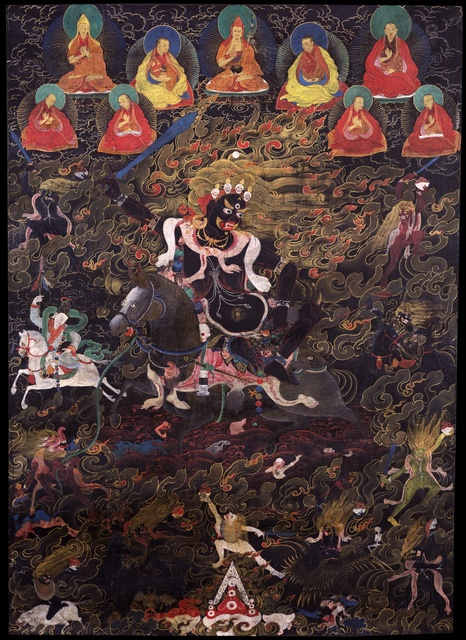, 'Shri Devi, Dorje Rabtenma,' 17th century , Rubin Museum of Art