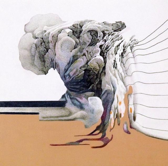 , 'La fin de la journée,' 2014, Galerie Maria Lund