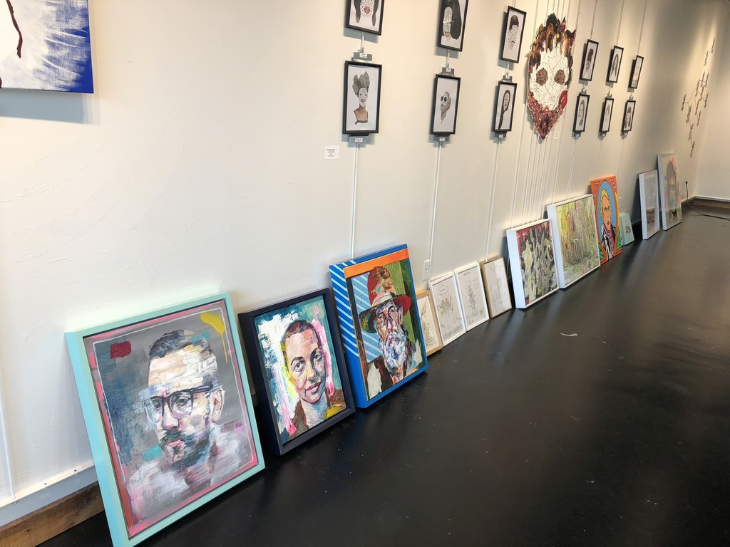 Works are starting to arrive! Only 4 more weeks until the exhibition opens.