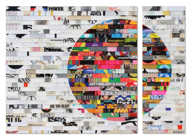 , 'Citta Samtana Diptych 219,' 2018, Galerie LeRoyer