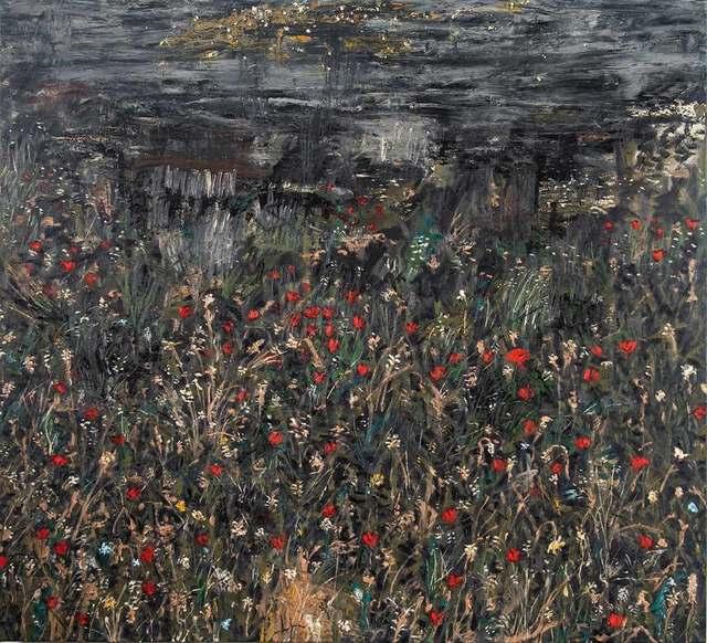 , 'Night in a Poppy Field,' 2018, Cris Worley Fine Arts