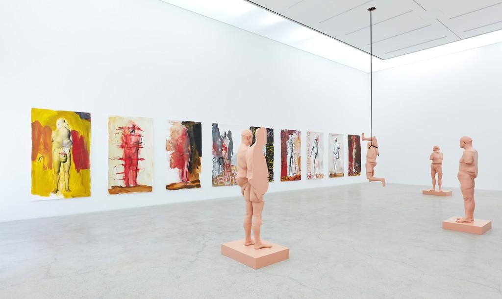 Installation view: Paul McCarthy, Cut Up and Silicone, Female Idol, WS, Kukje Gallery, Seoul. Courtesy Kukje Gallery, Seoul.
