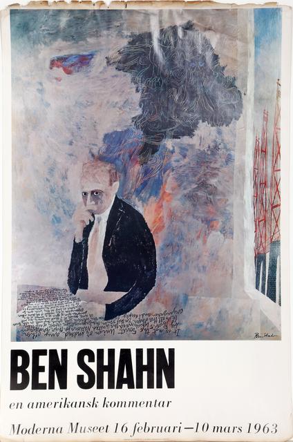 Ben Shahn, 'Moderna Museet', 1963, Print, Poster, RoGallery