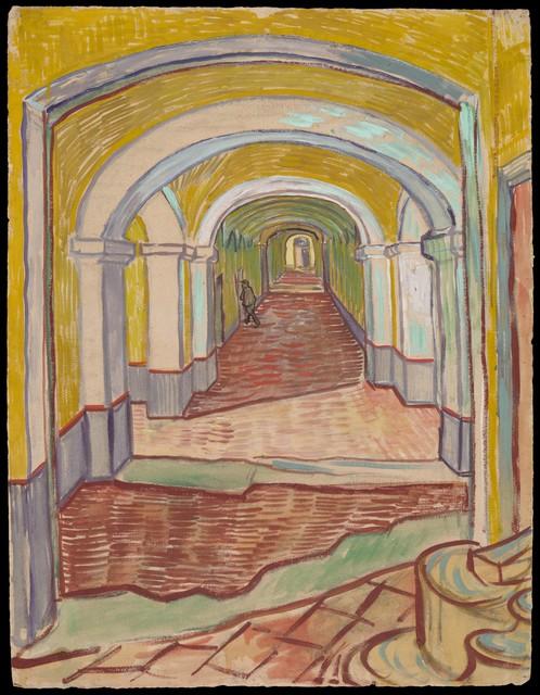 Vincent van Gogh, 'Corridor in the Asylum', 1889, The Metropolitan Museum of Art