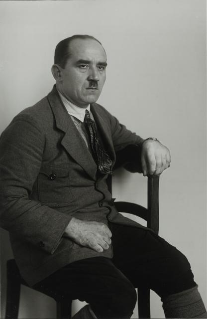 August Sander, 'Communist [Jean Winterich], 1927', Galerie Julian Sander
