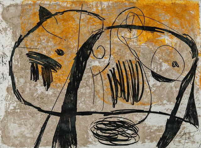 Joan Miró, 'La Commedia dell'Arte V', 1979, Skinner