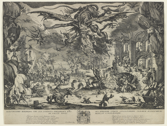 , 'The Temptation of St. Anthony,' ca. 1634, Bowdoin College Museum of Art