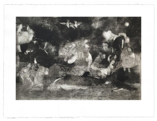 Diarmuid Delargy, 'Mirror of Stars', 2014, Print, Intaglio, Stoney Road Press