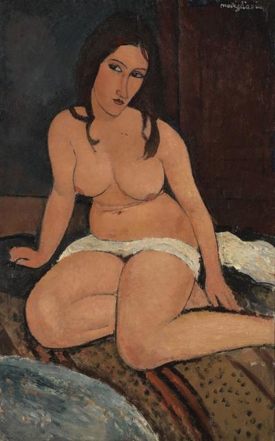, 'Seated Nude,' 1917, Tate Modern